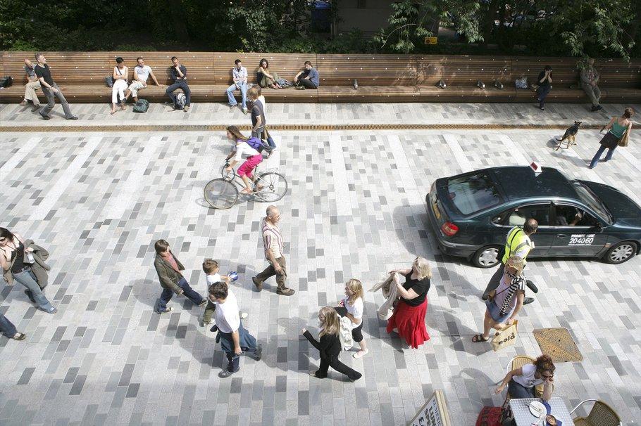 Herstructurering openbare ruimte in Brighton
