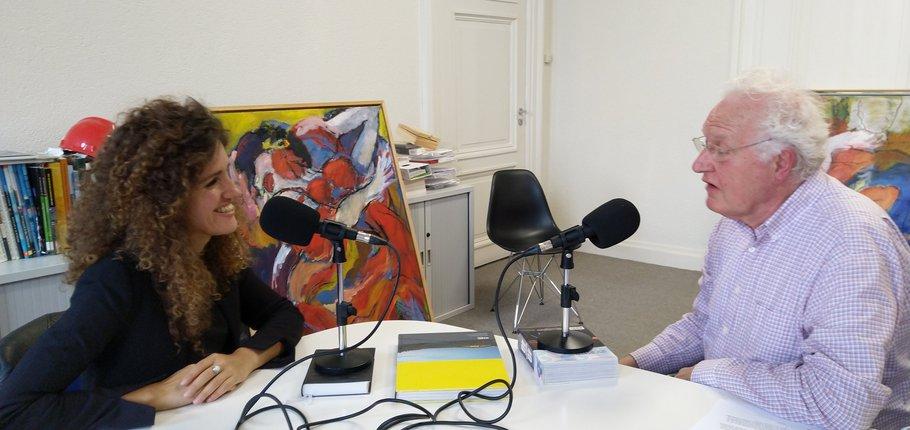 Sladjana Mijatovic (BPD) en Kees Duijvestein (TU Delft)