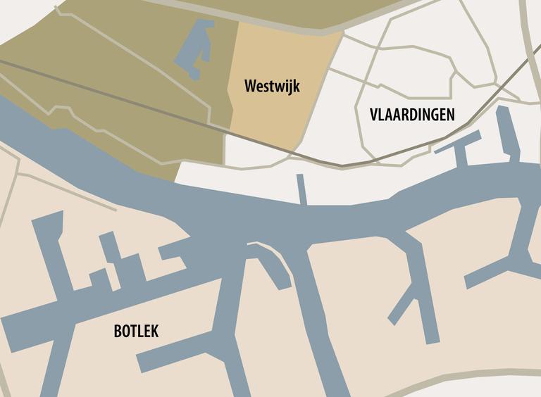 Kaart van Westwijk, Vlaardingen