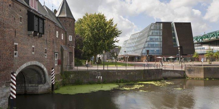 Koppelpoort en gebouw Rijksdienst voor Cultureel Erfgoed