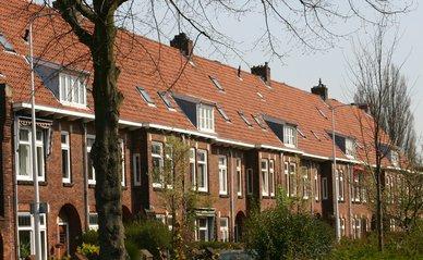 Leiden rijtjeshuizen