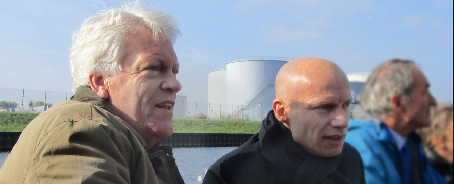 Wim Kuiken en Henk Ovink