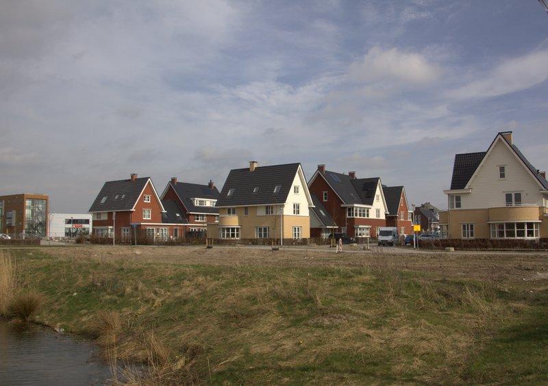 Nieuwbouw in de wijk De Bouw in Houten - Jan Dijkstra, Wikimedia Commons