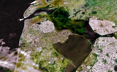 Noord-Holland luchtfoto