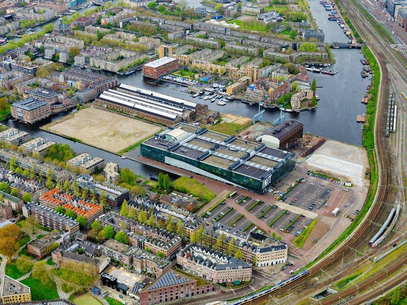 Oostenburg luchtfoto