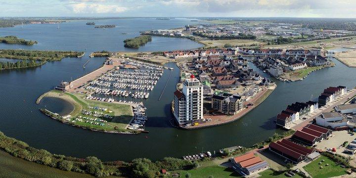 Waterfront Harderwijk panorama
