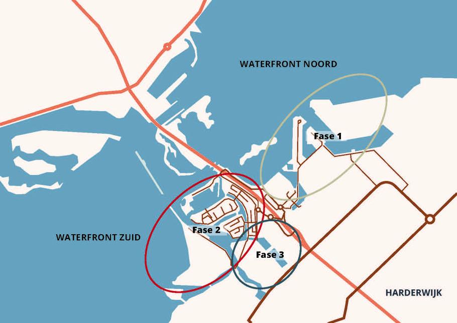 Waterfront Harderwijk kaart