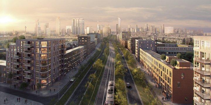Parkstad Rotterdam - render