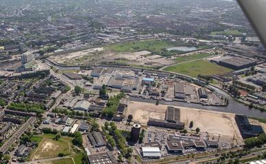 Projectlocatie CrossMark Breda vogelvlucht