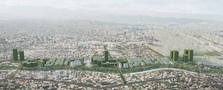 Riverside Tirana (Credits: Stefano Boeri Architetti)