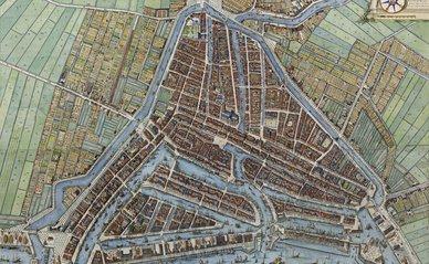 ROTTERDAM MET AL SYN GEBOUWEN (1694)