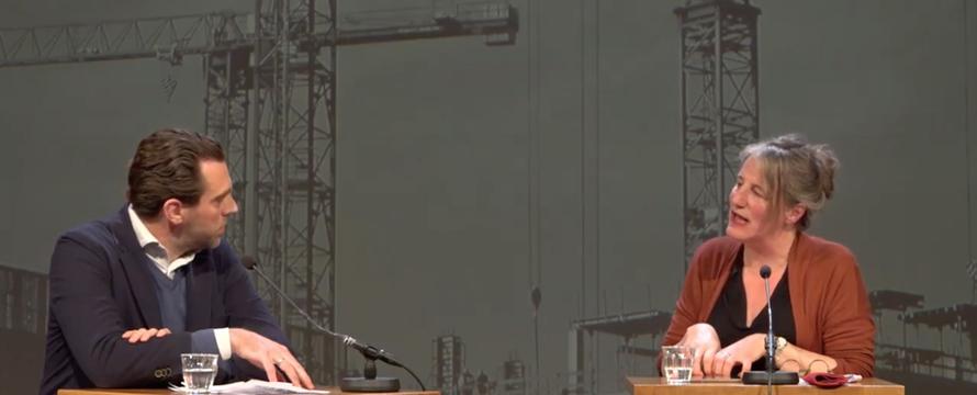 Screenshot uit video van de zwijger