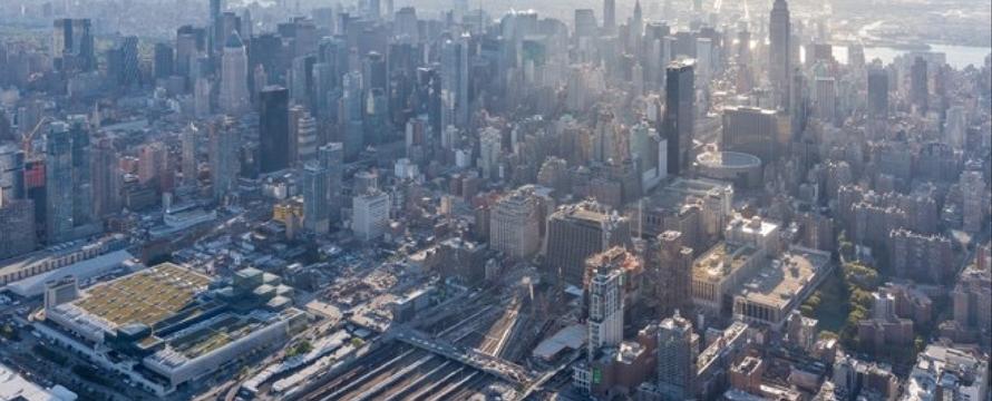 Far West Side voorafgaand aan de bouw van Hudson Yards