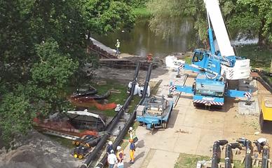 """Warmtenetten aanleg -> Gravenwegpad Alkmaar, bouwput HVC"""" (CC BY 2.0) by Regionaal Archief Alkmaar"""