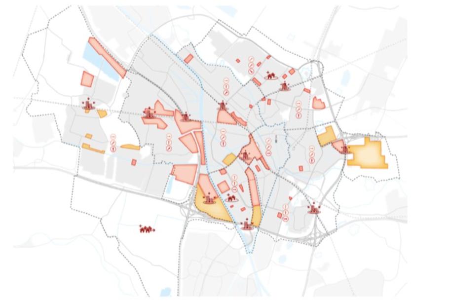 Binnenstedelijke herontwikkelingslocaties in Utrecht