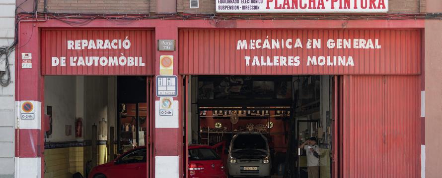 Barcelona - autogarage