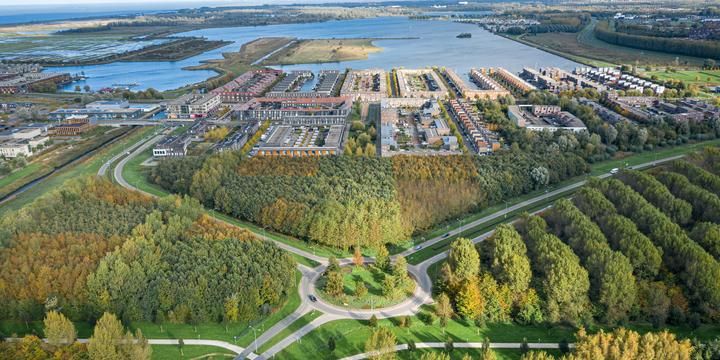 Luchtfoto Noorderplassen - Almere