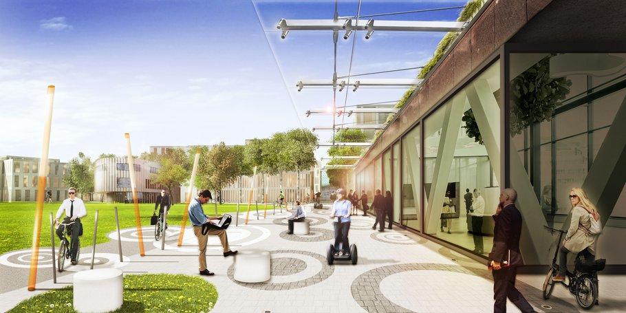 Schiphol Trade Park Kcap Campus