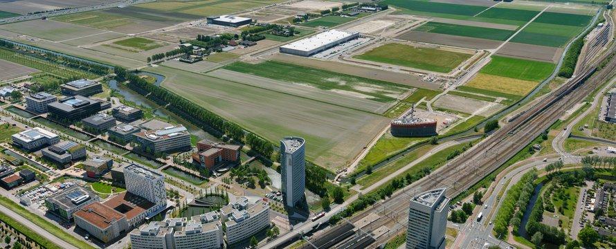 Schiphol Trade Park luchtfoto