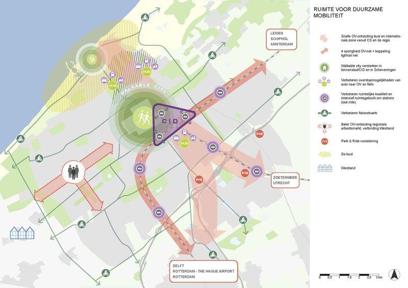 mobiliteit Den Haag Central Innovation District