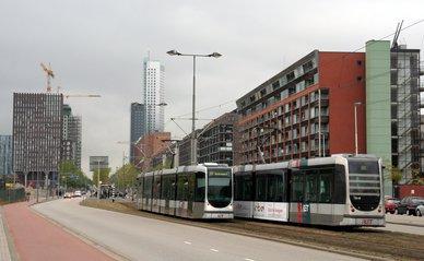Tram Rotterdam Zuid