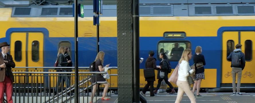 Trein NS amsterdam centraal