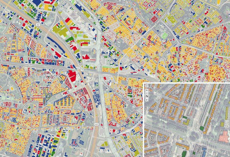 Bron: Daken kansenkaart gemeente Utrecht, 2020