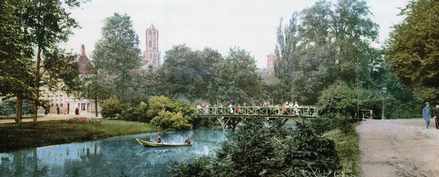Utrecht Maliesingen en Knuppelbrug 1900