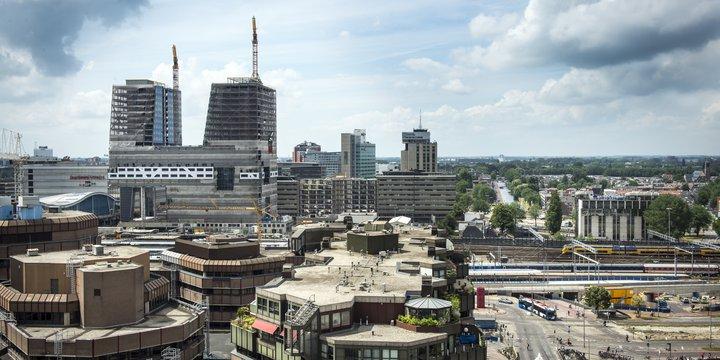 Hoog catherijne Utrecht -> beeldenbank SKG