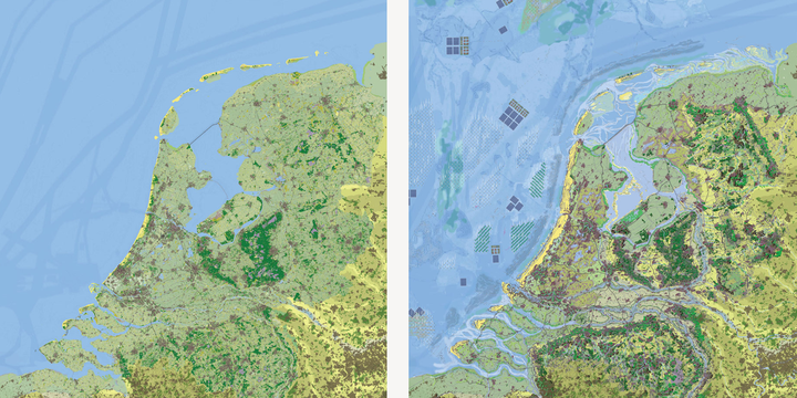 Nederland in 2020 en 2120 | WUR