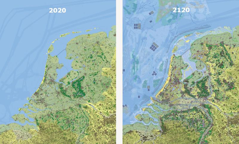 Nederland in 2020 en 2120   WUR