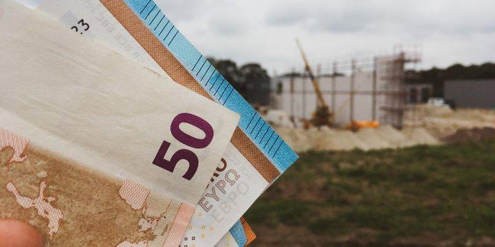 Geld en bouwplaats