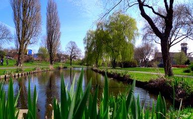 Wilhelminapark, Zoetermeer, The Netherlands