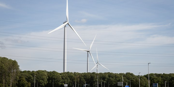 Windturbines in landschap - Wytse Averink via Over Morgen