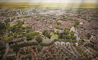 Woerden centrum luchtfoto -> Woerrden Marketing, 2013