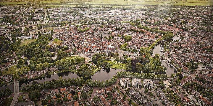 Woerden centrum luchtfoto -> Woerrden Marketing, 2013