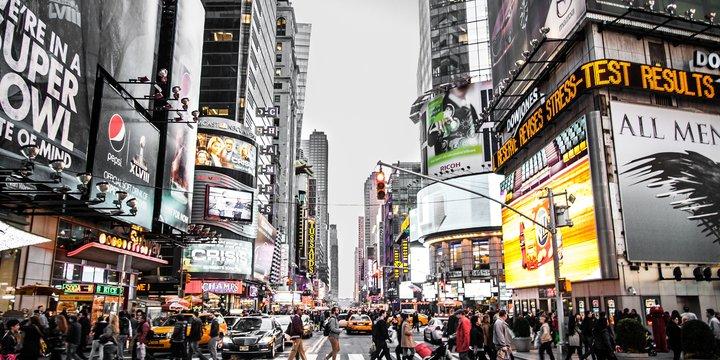 NEW YORK Photo by Aaron Sebastian on Unsplash