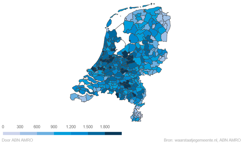 ABN verderkijken kaart NL