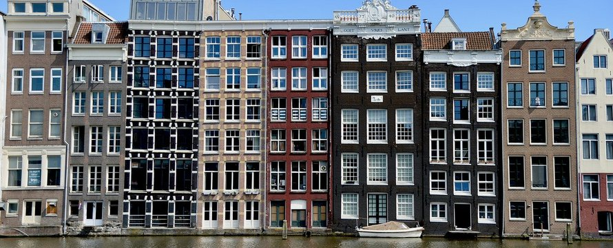 Amsterdam woningen - Pixabay