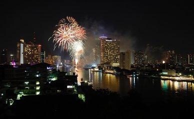 stad vuurwerk vernieuwing