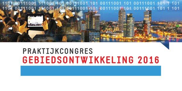 Banner Praktijkcongres Gebiedsontwikkeling 2016