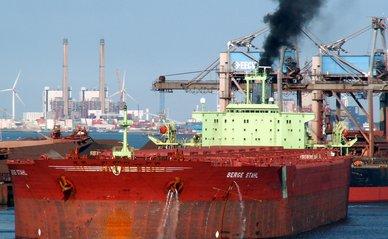 rotterdam haven schip