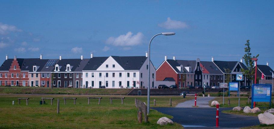 Rijtjeswoningen Blauwestad in het Havenkwartier | Ineke Lammers