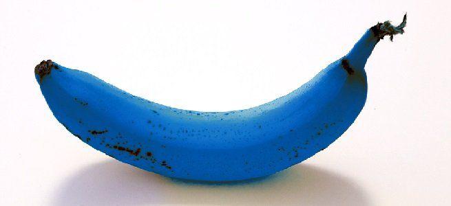 Throw the Blue Banana in the Green Recycling Bin