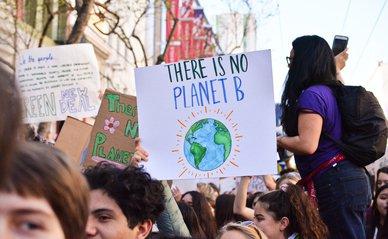 No planet B -> Photo by Bob Blob on Unsplash