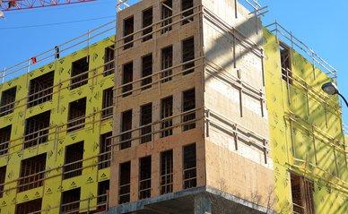 nieuwbouw appartementenblok Pixabay License