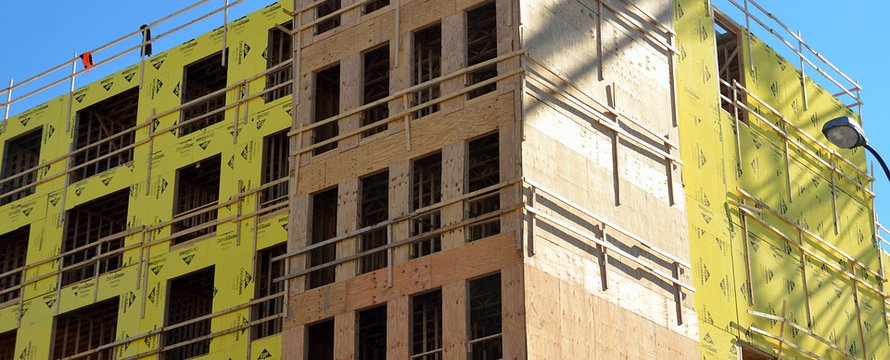 nieuwbouw appartementenblok