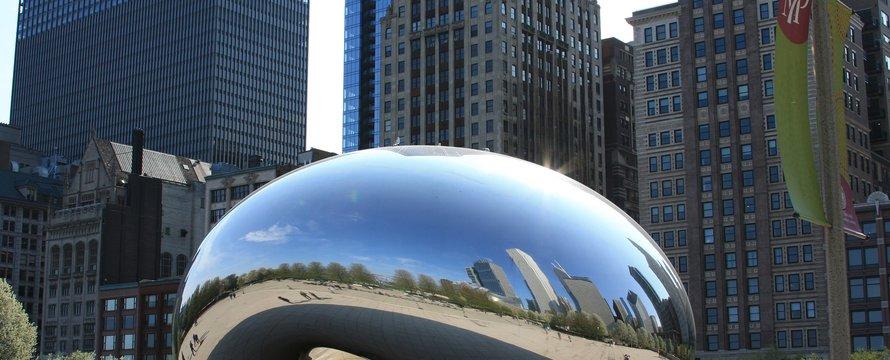City mirrored