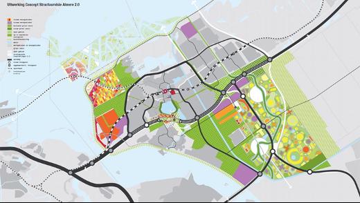 Concept structuurvisie MVRDV Almere -> Gemeente Almere/MVRDV
