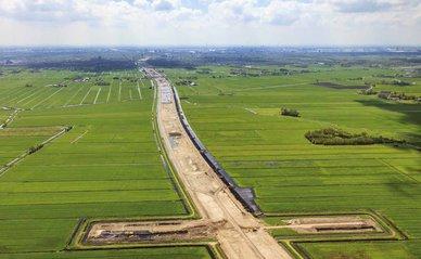 A4 snelweg Delft Schiedam